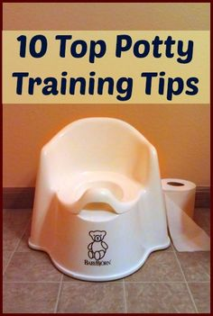 10 top tips to potty train your #toddler! via @Catherine Moss @Right Start Blog