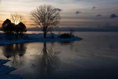 Title  Cool Gray Reflections And Ice Patches  Artist  Georgia Mizuleva  Medium  Photograph - Fine Art Photograph