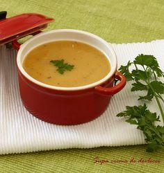 Supa crema de dovlecei :: Bunatati de la Oana