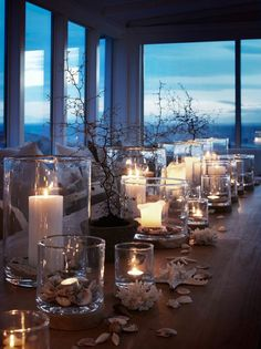 A great table setting that brings nature inside.....Slettvoll outdoor collection 2014, Norway