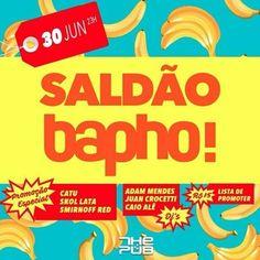 #VEJA The Pub: Saldão da Bapho! #agenda @paroutudo via ParouTudo http://ift.tt/29bjI8o #Raynniere #Makepeace