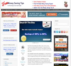 Free money saving tips offers printable coupons, coupon codes, store coupons, a daily freebie, a discount stores locator & daily deals as well as home remedies for people & pets.  http://freemoneysavingtips.org