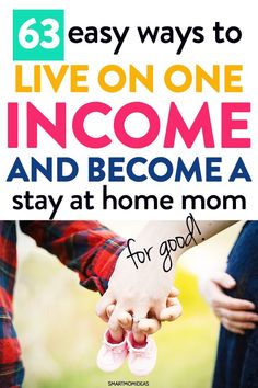 Save money and live on one income so that you can become a stay at home mom with your little newborn baby. Learn frugal saving tips to live on one income. Stay At Home Mom, Work From Home Moms, Make Money From Home, Gentle Parenting, Parenting Teens, Parenting Hacks, Ways To Save Money, Money Saving Tips, Adult Children Quotes
