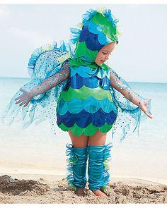 baby glitterfish costume