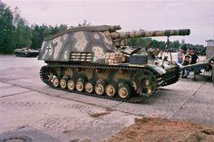 German Hummel, 105 mm.