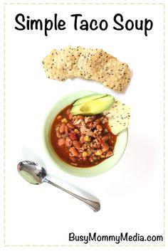 Simple Taco Soup | t