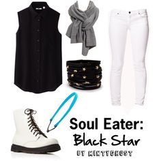 """Soul Eater: Black Star"" by mintyghost on Polyvore"