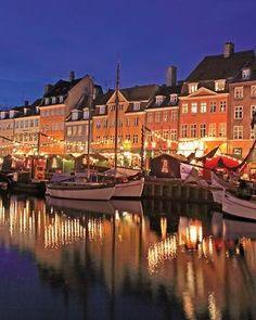 Nyhavn   Copenhagen   Denmark   Europe