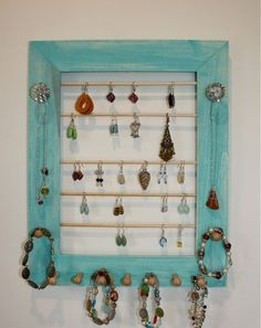 turquoise jewelry frame *