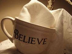 """believe"" cup"