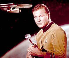 Captain Kirk pose
