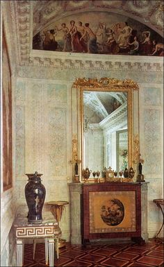 Dressing Room - Empress - Pavlovsk Palace & Park - Country Residence of the Russian Imperial Family
