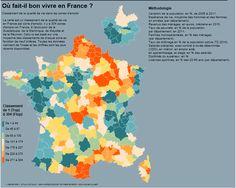 Où fait-il bon vivre en France ?