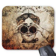 Vintage Face Mousepad