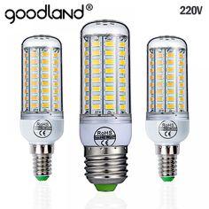 Goodland Led Lamp Smd 5730 Led Light 24 36 48 56 69 72 Leds Corn Bulb Chandelier For Buy Chandelier, Chandelier Lighting, Chandeliers, Led Smd, Chips Brands, E14 Led, Lumiere Led, Luminous Flux, Vintage Microphone