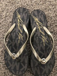 725a83133e5 Michael Kors Flip Flop With Heel Size Large  fashion  clothing  shoes   accessories  womensshoes  sandals (ebay link)