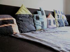 Almohadones casitas :)