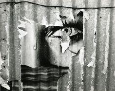 Paolo Monti - Affiche déchirée, ca. 1960