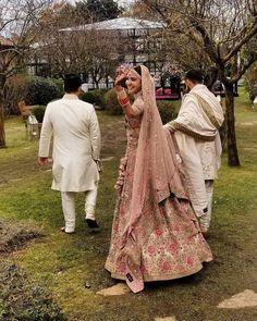 Anushka Sharma Looked Royal in Pink Floral Lehenga By Sabyasachi