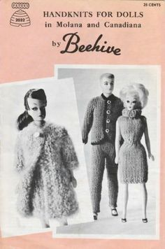 Knitting patterns for Sindy / Barbie doll | eBay