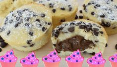 Desert Recipes, Doughnut, Nutella, Muffins, Cheesecake, Food And Drink, Sweets, Cookies, Baking