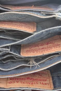 Levi Strauss & Co. #jeans It's worth paying extra for jeans that fit and flatter. Your best bet? A dark, bootcut pair made from stretch denim with no more than 2 percent Lycra. (The fabric will follow your curves while keeping its shape.)