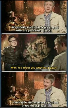 Oh Martin! <--- Sherlock or Smaug? Is there really a diff anymore?