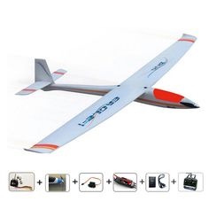 246.00$  Buy here - http://aliddq.worldwells.pw/go.php?t=1388354026 - Free shipping RC 383 glider radios control airplanes brushless version Ready-to-Fly RC Planes for hobby model planeaeromodelling