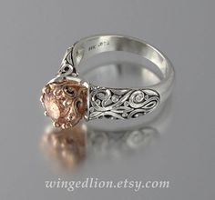 Hey, I found this really awesome Etsy listing at https://www.etsy.com/listing/152759557/the-enchanted-princess-engagement-ring