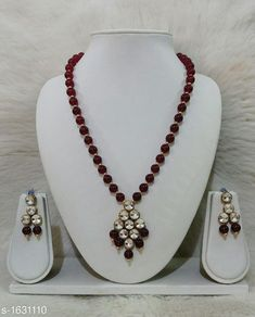 Jewellery Set Women's Alloy Gold Plated Jewellery Set Material: Alloy  Size: Free Size Description: It Has 1 Piece Of Necklace and 1 Pair Of Earring Work: Kundan & Beads Work Country of Origin: India Sizes Available: Free Size   Catalog Rating: ★4.3 (444)  Catalog Name: Free Gift Alluring Alloy & Kundan Beads Jewellery Sets Vol 3 CatalogID_212375 C77-SC1093 Code: 651-1631110-582