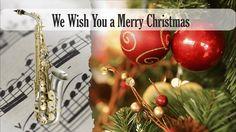 Partitura We Wish You a Merry Christmas Versión dos Saxofón Alto