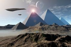 We can no longer build pyramids such as these. -Master