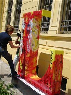 Lilith, 2009, Corredor Literário na Av. Paulista Outdoor Decor, Home Decor, Ceramic Sculptures, Contemporary Art, Hall Runner, Paintings, Artists, Interior Design, Home Interior Design