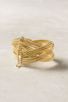 Woven Tangle Cuff ~Anthropologie