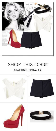 """""""Outfit"""" by lululafitte ❤ liked on Polyvore featuring River Island, Christian Louboutin and Dorothy Perkins"""