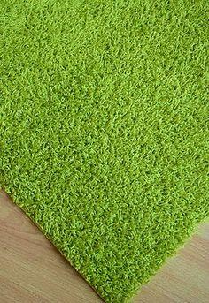 Teppich Läufer ALEXIS GRÜN Top Hochflor Shaggy Breite 70 cm NEU umkettelt | eBay
