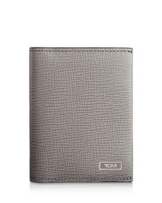 Tumi Monaco Leather Gusseted Card Case with Id