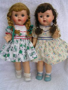 """16"""" Ideal Saucy Walker Dolls  Our saucy walker dolls looked just like this."""