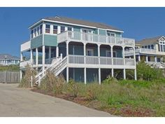 Sea Thru OH-10 - Semi-Oceanfront house - Corolla, Outer Banks (OBX)   RentABeach