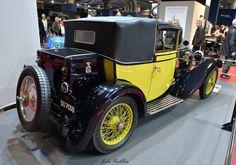 1928 Bugatti type 40 Lydia / Rétromobile 2016 . dessinée par jean Bugatti pour sa soeur Lydia .