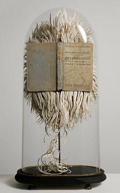book art in bell jar