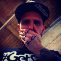 """well, i know a thing or two about a thing or two and one of them's the fact that men like me don't ever get no second chance"" #GetSome #dirtlife #crook #vandal #tattoos #ink #hiphop #emcee #underground #chances #hands #beard #trust #love #hate"