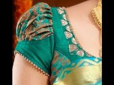 patterns blouse patterns Latest Banarasi Blouse Designs Trendy Saree Blouse Sleeve Styles to try this wedding season Simple Blouse Designs, Stylish Blouse Design, Blouse Back Neck Designs, Bridal Blouse Designs, Shagun Blouse Designs, Sleeves Designs For Dresses, Kurti Sleeves Design, Sleeve Designs, Dress Designs
