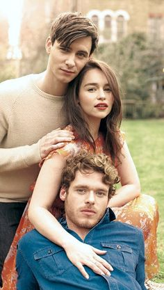 Emilia Clarke ♥ Richard Madden & Harry Lloyd ♥ feelings for british tv stars are not a problem i expected to have