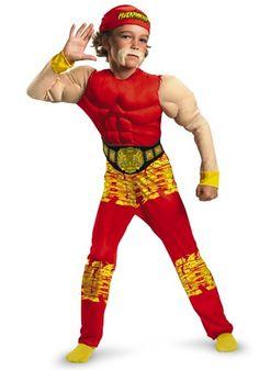 child hulk hogan costume - Triple H Halloween Costume