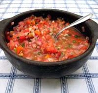 Salsa de Tomate Mexicana - Receta Y Comida De Mexico