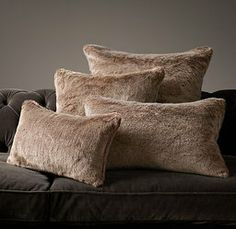 Givted- #luxe faux #fur #pillow collection