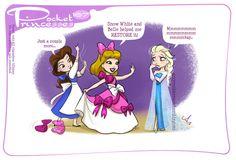 Pocket Princesses 167: Bow BrigadePlease reblog, do not repost or remove captionsFacebook page