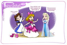 Pocket Princesses 167: Bow BrigadePlease reblog, do not repost or remove captionsFacebook page