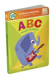LeapFrog Tag Junior Book: ABC Animal Orchestra by LeapFrog. $10.16. From the Manufacturer                Ratta-tat-tat on Cat's congas and croon with Baboon's bassoon while exploring the ABCs. This Tag Junior board book springs to life when you touch Tag Junior to any part of any page. More than 24 playful activities and 150 audio responses encourage little ones to explore while helping build confidence with books. Parents can connect to the online LeapFrog Learning...